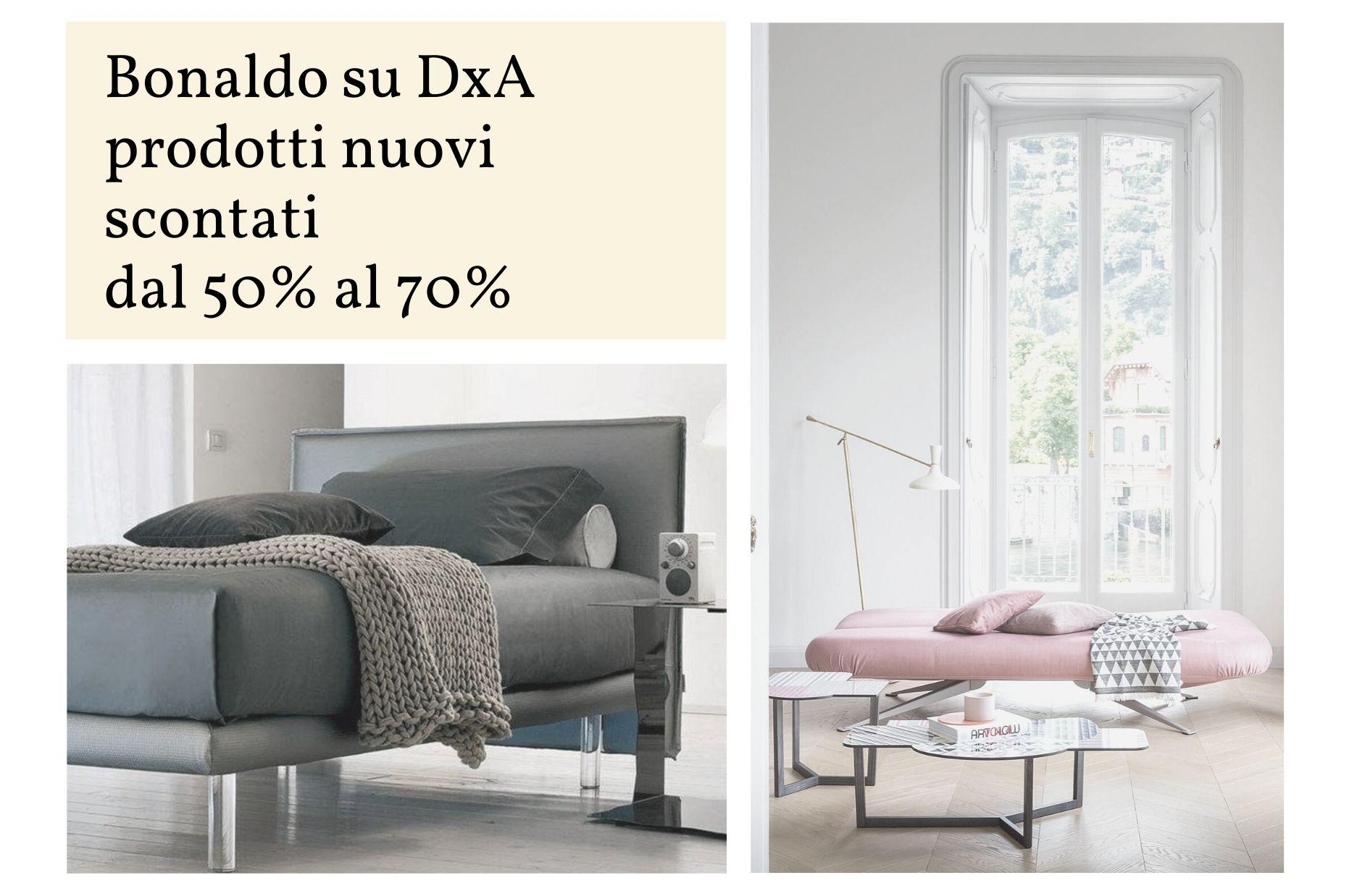 Bonaldo su DxA Sconti dal 50% al 70%